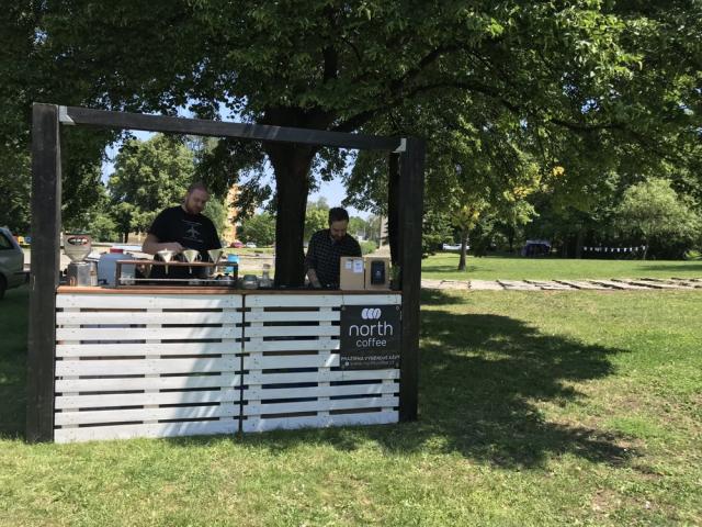 Víkend otevřených zahrad 2019 - The Nort Caffee stánek