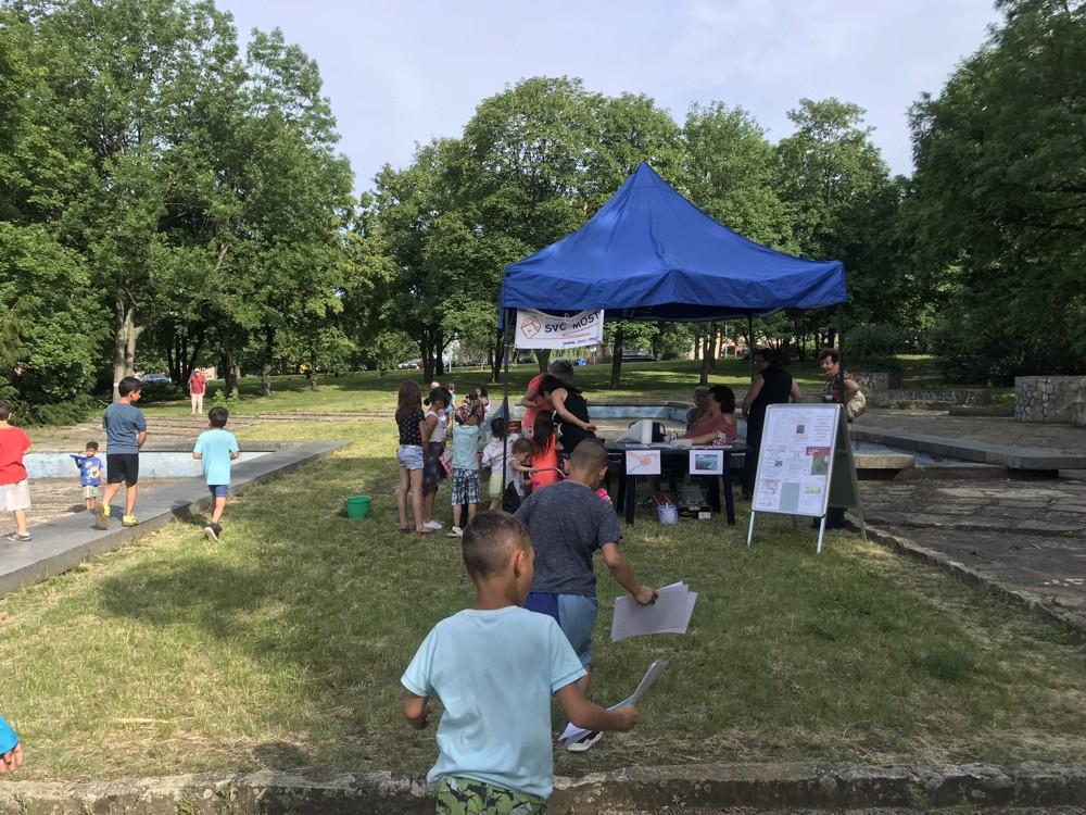 Víkend otevřených zahrad 2019 - Stánek Střediska volného času